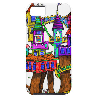 Fantasy Treehouse iPhone 5 Covers