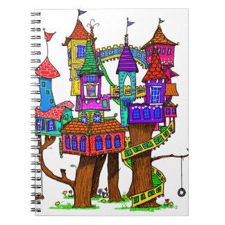 Fantasy Treehouse Notebooks