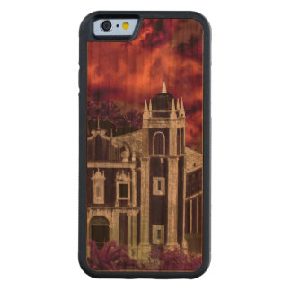Fantasy Tropical Cityscape Aerial View Carved Cherry iPhone 6 Bumper Case