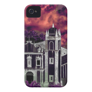 Fantasy Tropical Cityscape Aerial View Case-Mate iPhone 4 Case