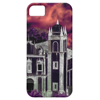 Fantasy Tropical Cityscape Aerial View iPhone 5 Case