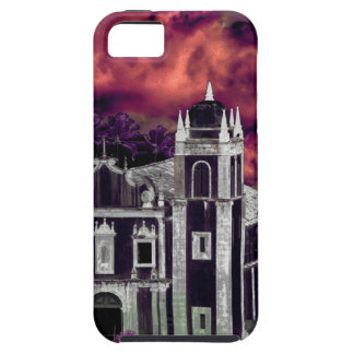Fantasy Tropical Cityscape Aerial View iPhone 5 Covers