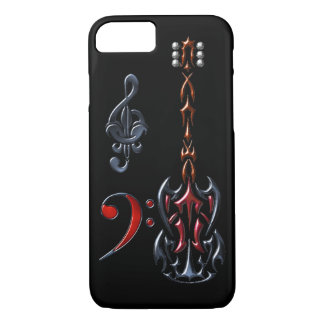 Fantasy Tunes Black iPhone 7 Case