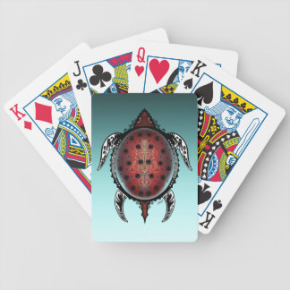 Fantasy Turtle Tattoo Bicycle Playing Cards