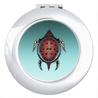 Fantasy Turtle Tattoo Vanity Mirror
