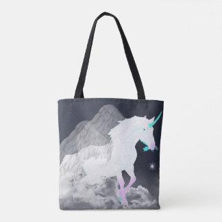 Fantasy Unicorn Angel Tote Bag