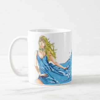 Fantasy Water Elf Coffee Mug