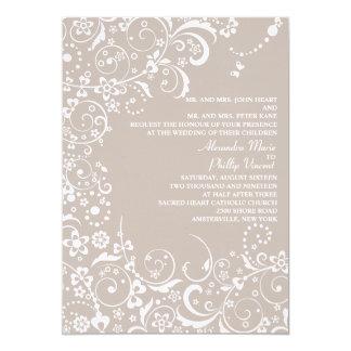 "Fantasy Wedding Invitation 5"" X 7"" Invitation Card"