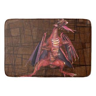 Fantasy Winged Dragon BathMat