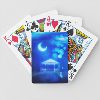 Fantasy Winter Alcove Bicycle Playing Cards