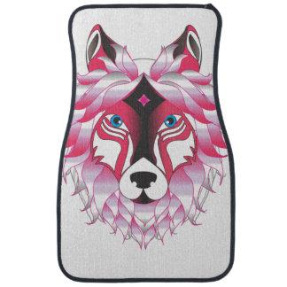 Fantasy Wolf Animal Car Mat
