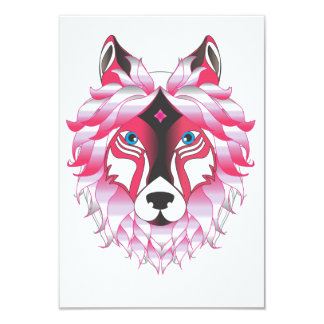 Fantasy Wolf Animal Card