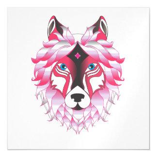 Fantasy Wolf Animal Magnetic Invitations