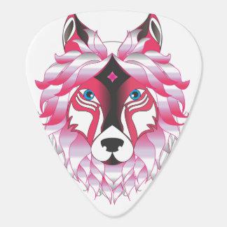 Fantasy Wolf Animal Plectrum