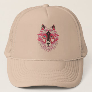Fantasy Wolf Animal Trucker Hat