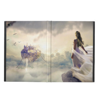 Fantasy Woman and Island Castle in the Clouds Powis iPad Air 2 Case