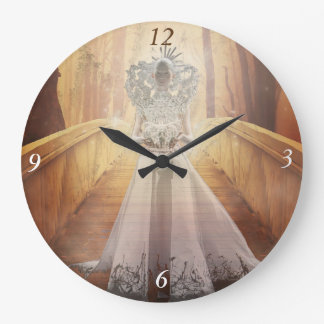Fantasy Woodland Queen Clock