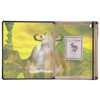 Fantasy world iPad folio case