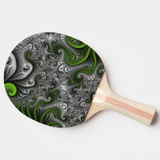 Fantasy World Green And Gray Abstract Fractal Art