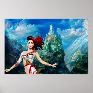 Fantasy world poster