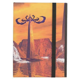 Fantasy world with waterfall case for iPad air