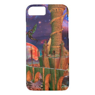 Fantasy Worlds Dragon Fight iPhone 7 Case