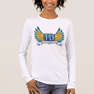 FantasyDaddy.com Ladies Long Sleeve (Fitted) Long Sleeve T-Shirt