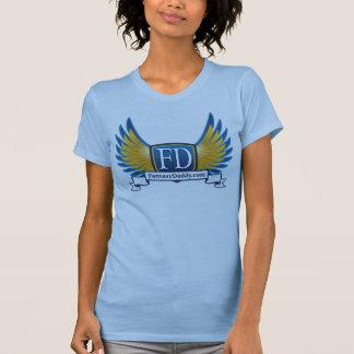 FantasyDaddy.com Ladies Twofer Sheer T Shirts