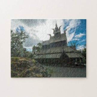Fantoft Stave Church, Bergen, Norway Puzzles