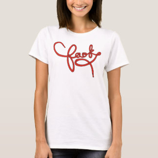 Faok 'Laced Up!' Women's Tee