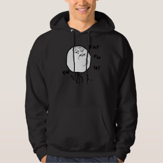 Fap Meme - 2-sided Dark Hoody