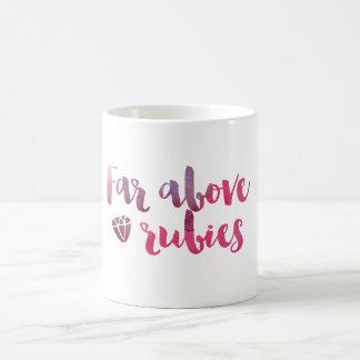 Far Above Rubies - Proverbs 31 Mug