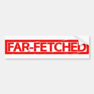 Far-fetched Stamp Bumper Sticker