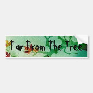 Far From The Tree sticker Bumper Sticker