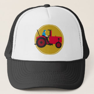 far MER with tractor Trucker Hat