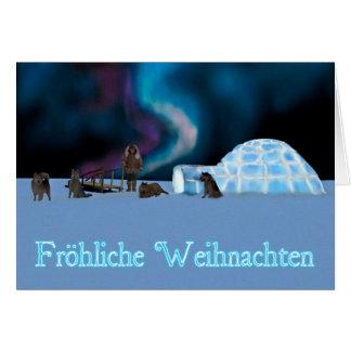 Far North Christmas - Fröhliche Weihnachten Card