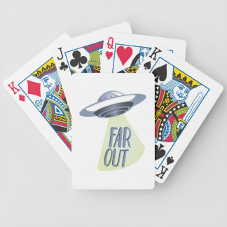 Far Out Bicycle Playing Cards
