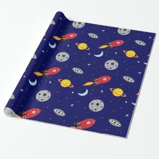 Far Out Cosmic Plaid Patern from Space