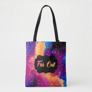 Far Out Cosmic Sky Tote Bag