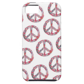 Far Too Pretty Peae Symbolsc Case For The iPhone 5