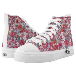 Far Too Pretty Printed Shoes