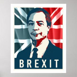 Farage Brexit Poster - -