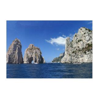 Faraglioni Capri Acrylic Print