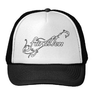Farallon Black Logo Trucker Cap