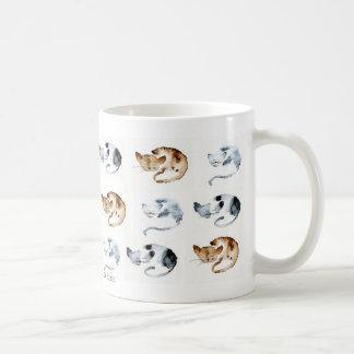 Farandole of chaquarelles door frames mug