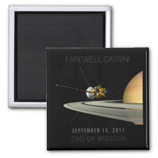 Farewell Cassini End of Mission - Magnet