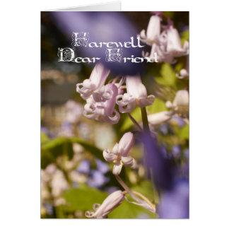 Farewell dear friend, sympathy card