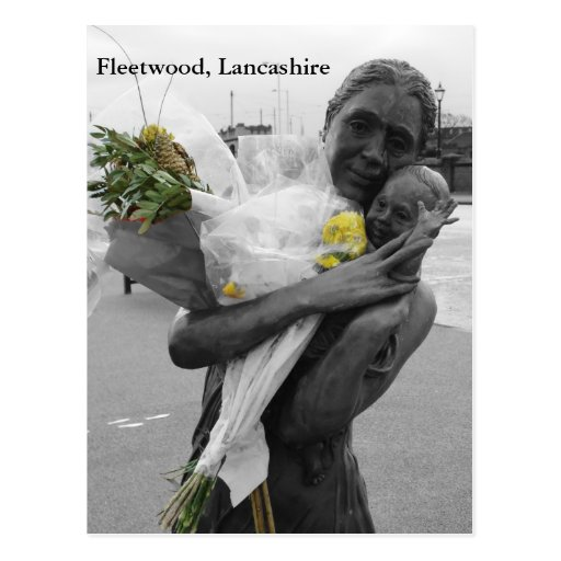 """Farewell"", Fleetwood Post Card"