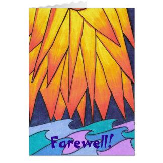 Farewell! Greeting Card