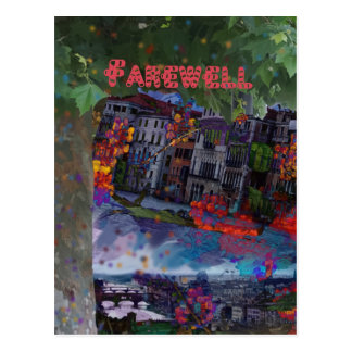 Farewell Postcard